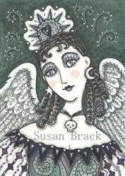 Art: DARK ANGEL by Artist Susan Brack