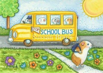 Art: GUINEA PIG EDUCATION by Artist Susan Brack