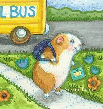 Art: GUINEA PIG EDUCATION Cropped by Artist Susan Brack
