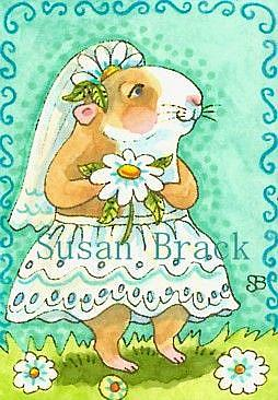 Art: JUNE BRIDE by Artist Susan Brack