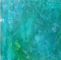 Art: The elements of green by Artist Cara Shea Berkeley