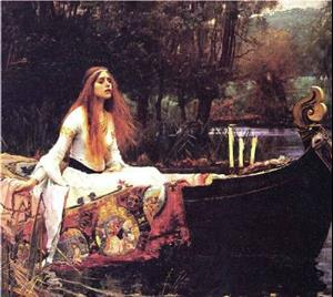 Detail Image for art The Lady of Shalott