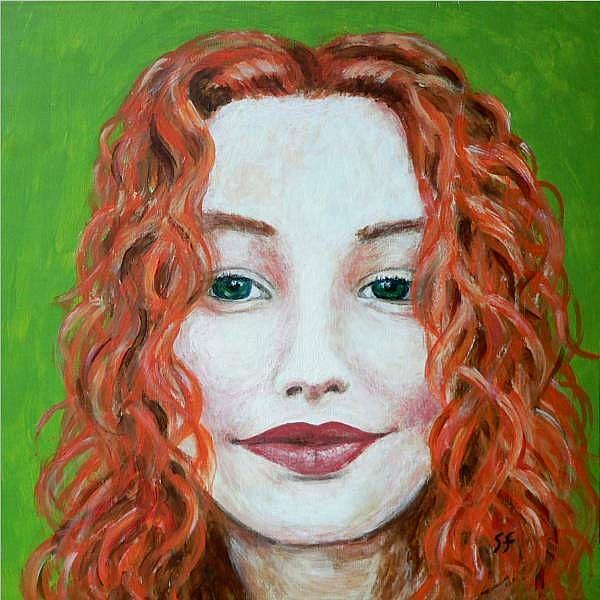 Art: I believe in peace - tori amos by Artist Sara Field