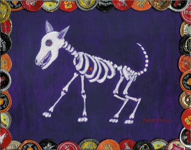 Art: they called him Funnybones by Artist Sara Field