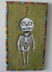 Art: the skeleton in her closet by Artist Sara Field