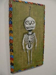 Detail Image for art the skeleton in her closet