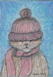 Art: warm and fuzzy by Artist Sara Field