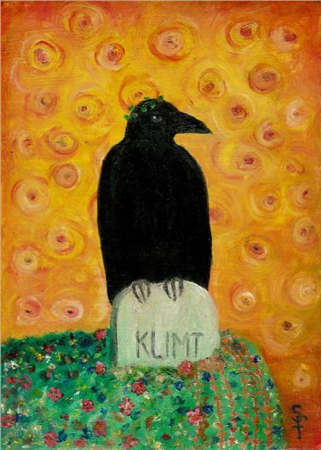 Art: Ode to Klimt by Artist Sara Field