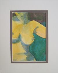 Art: Small Nude by Artist Laura Gemme Triplett