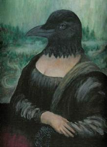 Detail Image for art Crow-na Lisa