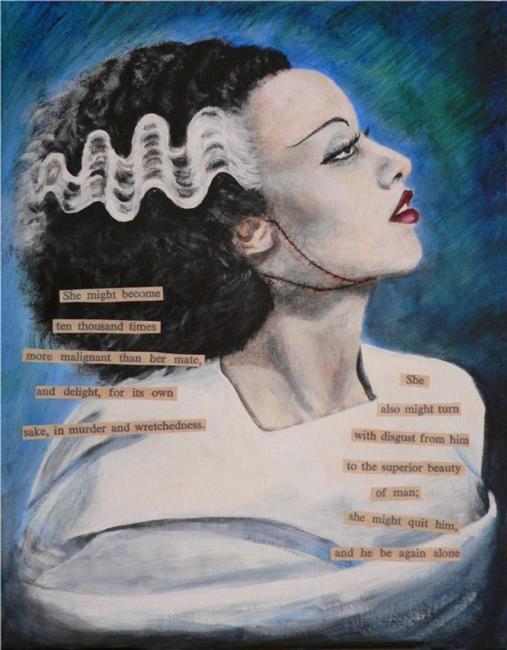 Art: The Bride by Artist Sara Field