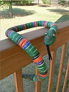 Detail Image for art Bottlecap Snake