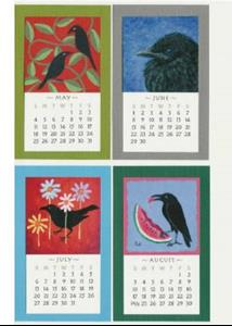Detail Image for art Crow Art Calendar 2008