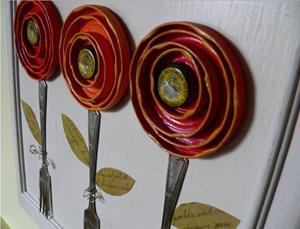 Detail Image for art Boho Blooms
