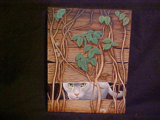 Art: Hide 'n Seek by Artist Rosemary Margaret Daunis