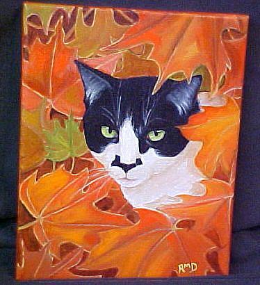 Art: Autumn Zorro by Artist Rosemary Margaret Daunis
