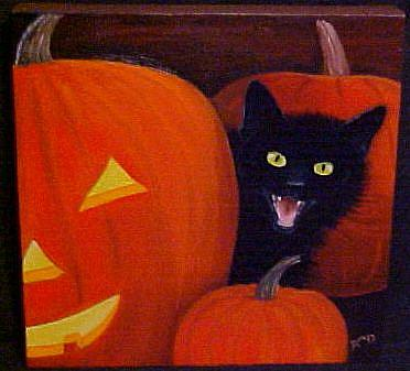Art: Witch's Pet by Artist Rosemary Margaret Daunis