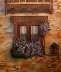Art: Window Box by Artist Deborah Leger