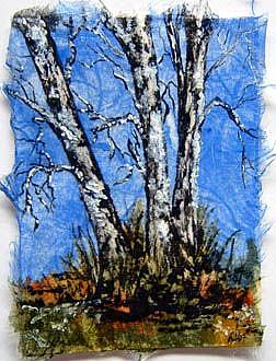 Art: Birch Tree Series, Card 6 by Artist Deborah Leger
