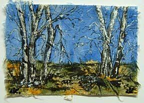 Detail Image for art Birch Tree Diptych