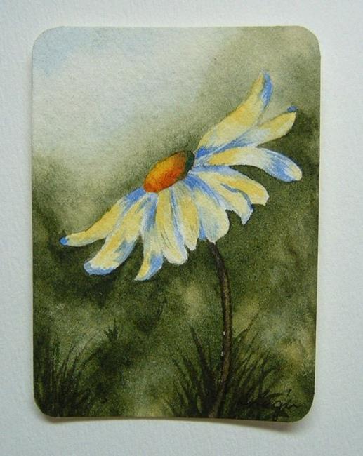 Art: Daisy Series, Card 2 by Artist Deborah Leger