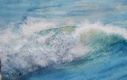 Art: Waves by Artist Deborah Leger