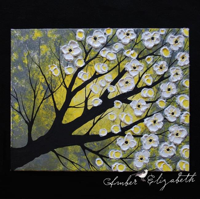 Art: Sunlight Blossoms (sold) by Artist Amber Elizabeth Lamoreaux