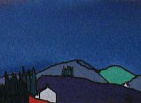 Art: ACEO Perthshire Series No5 by Artist Martin Devine