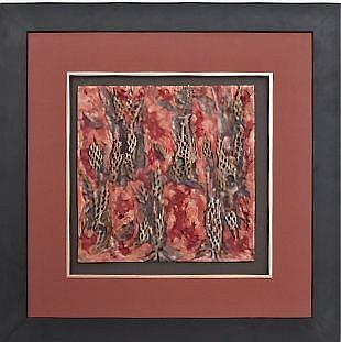 Art: The Red Forest           Sold by Artist Ruth Edward Anderson