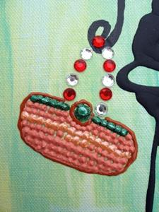 Detail Image for art <b>Sally & Mary Shop til they Drop!</b>
