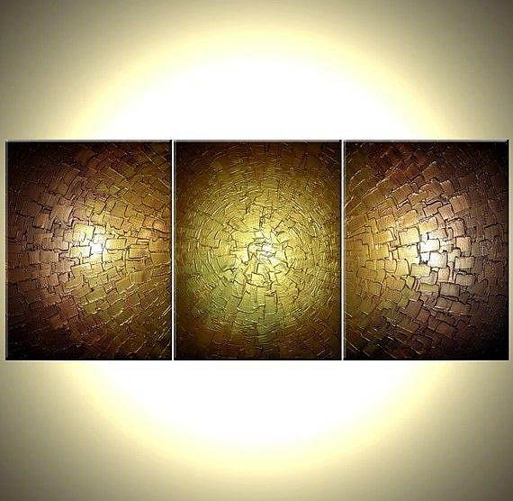 GOLD ILLUSION - by Daniel J Lafferty from Abstract Geometric Art Gallery