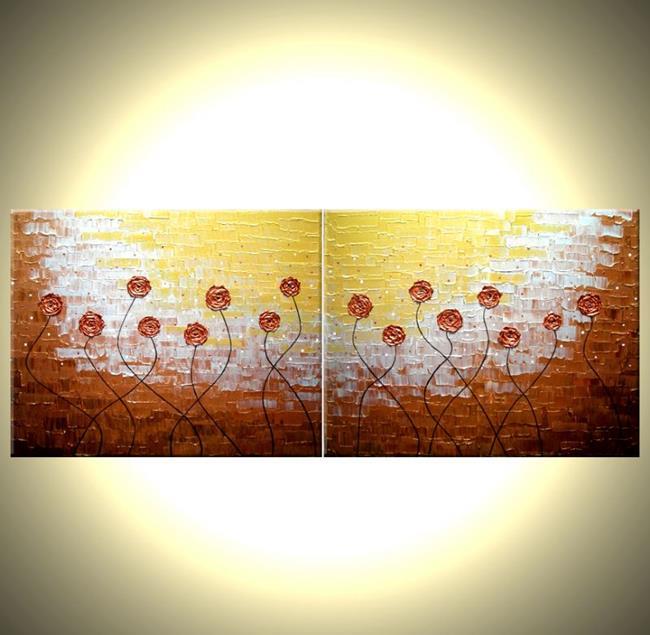 Art: MORNING BLOSSOMS by Artist Daniel J Lafferty