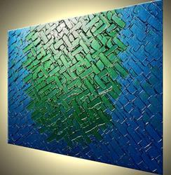 Art: JADED BLUE by Artist Daniel J Lafferty