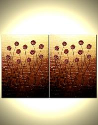 Art: SUNSET ROSES by Artist Daniel J Lafferty