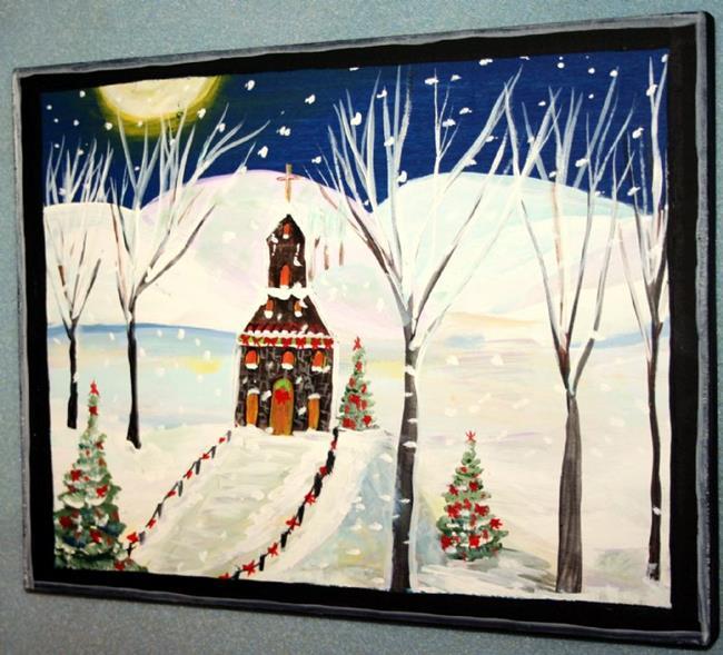 Art: IN THE HOLY NIGHT-sold by Artist LUIZA VIZOLI