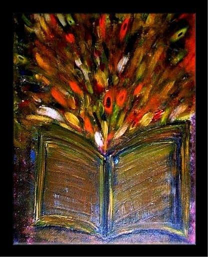 Art: MIRACLE'S BOOK-SOLD by Artist LUIZA VIZOLI