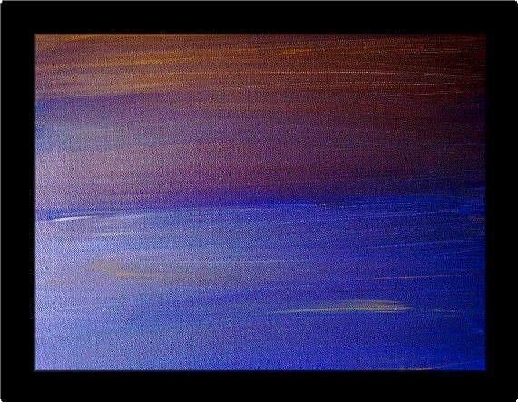 Art: SUNRISE-SOLD by Artist LUIZA VIZOLI