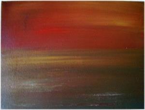 Detail Image for art SUNSET-sold