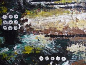 Detail Image for art ORIGINAL abstract PAINTING MODERN Art