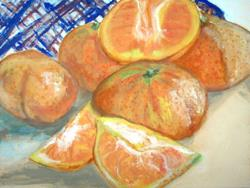 Art: SWEET CLEMENTINES by Artist Melody Cole Gates