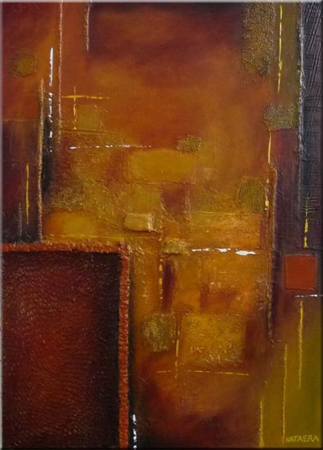 Art: ORIGINAL ABSTRACT PAINTING,MODERN ART,TEXTURE by Artist Nataera