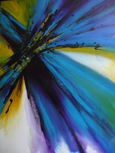 Detail Image for art original abstract painting , modern art