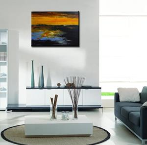 Detail Image for art ORIGINAL ABSTRACT LANDSCAPE PAINTINGS