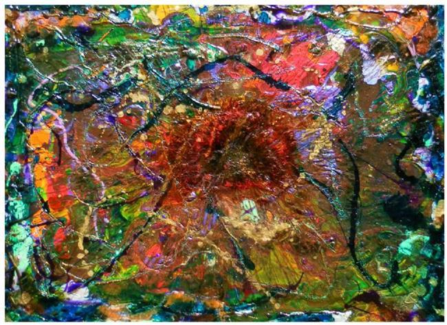 Art: GALACTIC BLAST by Artist Dawn Hough Sebaugh