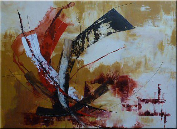 Art: ORIGINAL ABSTRACT PAINTING by Artist Nataera