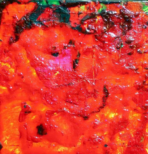 Art: FIRESIDE GLOW (SOLD) by Artist Dawn Hough Sebaugh