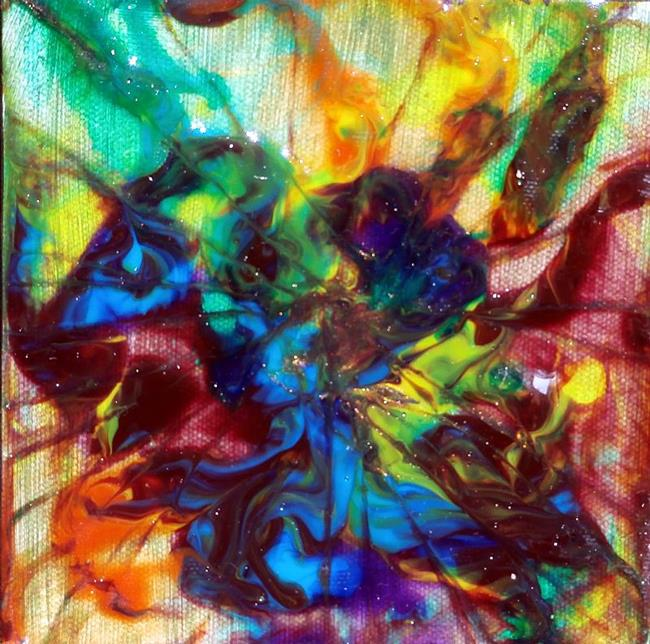 Art: LOVE IN BLOOM by Artist Dawn Hough Sebaugh