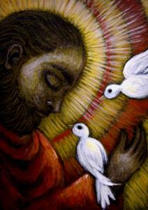 Detail Image for art **SAINT FRANCIS OF ASSISI - THE MESSAGE