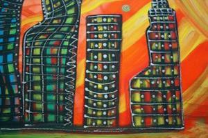 Detail Image for art CELESTIAL CITY