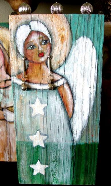 Folk Art Angel Paintings